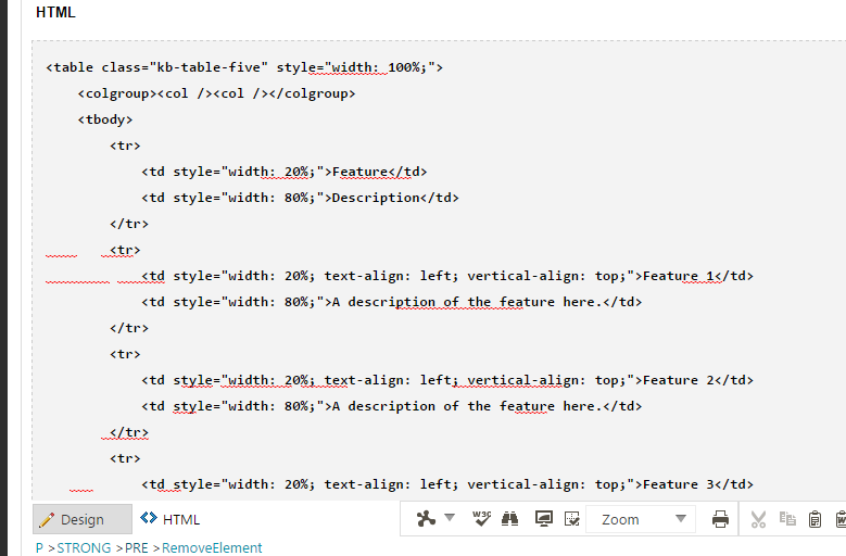 Adding Syntax Highlighted Code Block Within InstantKB Articles